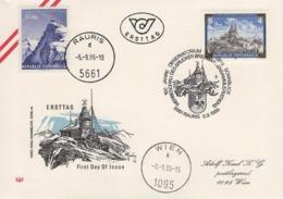 FDC Gelaufen - 100 Jahre Observatorium Auf Dem Sonnblick 5661 Rauris 1986 - FDC