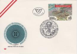 FDC - Wiener Folgetraffen KSZE 1986 - FDC