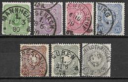 Deutsches Reich 1875, Complete Set - Gebraucht