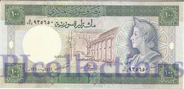SYRIA 100 POUNDS 1990 PICK 104d UNC - Siria