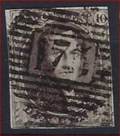 Medaillon 10 Cent Met MOOIE Stempel P175 Van ENSIVAL En 3 Randen (rechter Kader Geraakt) ; Zie Ook Scan ! - Belgium
