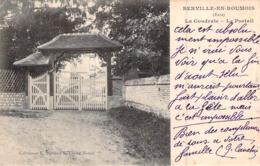 C P A 27 Berville En Roumois Normandie - Acquigny