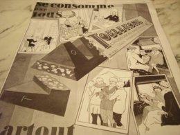 ANCIENNE PUBLICITE SE CONSOMME PAR TOUS TOBLERONE 1927 - Posters