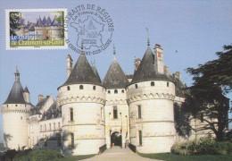 Carte   Maximum   1er   Jour   FRANCE   Le  Chateau  De  CHAUMONT  SUR  LOIRE   2006 - 2000-09
