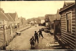 Cp Edam Volendam Nordholland Niederlande, Kinder Spielen Am Kanal - Unclassified