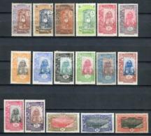 Costa De Somalia 1915-16. Yvert 83-99 * MH. - Côte Française Des Somalis (1894-1967)