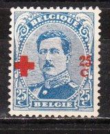 156*  Croix-Rouge - Bonne Valeur - MH* - LOOK!!!! - 1918 Rotes Kreuz