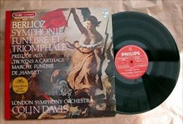 """Disque Hector BERLIOZ """" Symphonie Funèbre Et Triomphale-Marche Funèbre """" La Liberté ...Delacroix 33 T LP_D170 - Clásica"""