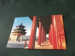 STORIA POSTALE  FRANCOBOLLO CINA CHINE THE HALL OF PRAYER FOR GOOD HARVESTS - Cina