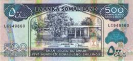 SOMALILAND 500 SHILLINGS 2011 P-6h UNC  [SOL122e] - Somalia