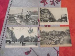 LOT DE 185 CARTES POSTALES ANCIENNES ET AUTHENTIQUES DE PARIS,certaines Interressantes,les Autres Aussi - 100 - 499 Postcards