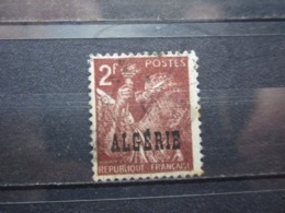 VEND TIMBRE D ' ALGERIE N° 234 , IMPRESSION DEFECTUEUSE !!! - Used Stamps
