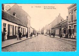 CPA TURNHOUT : Einde Paterstraat / Bout Rue Des Pères N° 53, Animée, Circulée En 1919 - Coll Bertels, Brux. - 2 Scans - Turnhout