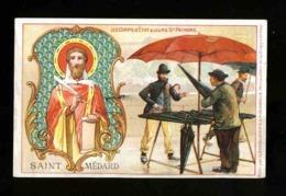 Image Pieuse Chromo: Saint Medard. Chocolat Aiguebelle (117284) - Imágenes Religiosas