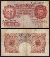 Grossbritannien - Great Britain 10 Shilling  ND (1960-61) Pick 373a  F- (4-)   - Otros – Europa
