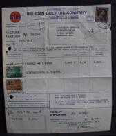 LetDoc. 330. Facture De 1952; Oblitération Su Un 1F20 N°845 Y&T Col Ouvert - Lettres & Documents