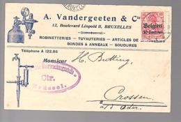 Vandergeeten Robinetteriies Tuyauteries Bondes Soudures > Crossen (790) - Army: German