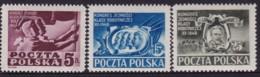 POLAND 1948 Fi 482-84 Mint Never Hinged - 1944-.... République
