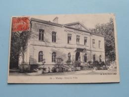 Hôtel De Ville VICHY ( 34 - B F Paris ) Anno 1907 ( Voir Photo Pour Detail ) ! - Vichy