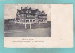 Small Post Card Of Southbourne On Sea Nr. Bournemouth,Dorset.,N83. - England