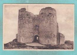 Small Post Card Of Criccieth Castle, Gwynedd,Wales,N83. - Wales