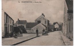 Chartrettes Grande Rue 1915 - Autres Communes