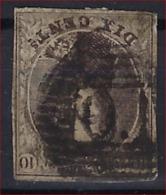 Medaillon 10 Cent Met AMBULANT Stempel  O. I / OUEST 1 Met 4 Randen In Redelijke Staat ; Zie Ook Scan ! - Belgium