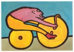Cpm 1433 ERGON - Le Cyclotouriste - Roue - Illustrateurs - Illustrateur - Ergon
