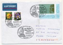 """ALLEMAGNE - 3 Enveloppes - Oblitérations Au Thème """"Robert Schumann"""" - Music"""