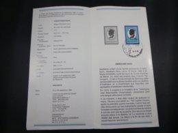 BELG.1982 2064 Feuillet Philatélique Fr. De La Poste ,avec Premier Jour Cachet Sur Timbre - FDC