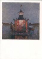 Alexandre Nikolayevich Benois - Pavillon Chinois - 1958 /P300/ - Peintures & Tableaux