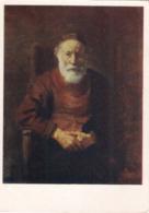 Rembrandt Harmenszoon Van Rijn - Portrait D'un Vieil Homme En Rouge - 1959 /P300/ - Malerei & Gemälde
