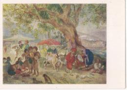 Karl Bryullov - Sweet Waters Near Constantinople - 1958 /P300/ - Malerei & Gemälde