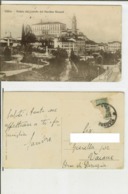 Udine: Veduta Del Castello Dal Giardino Ricasoli. Cartolina Fp Vg 1916? (animata, Militari Schierati) - Udine