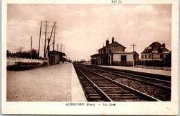 27 AUBEVOYE - La Gare. - Aubevoye