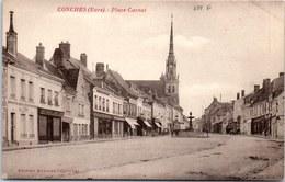 27 CONCHES - La Place Carnot. - Conches-en-Ouche