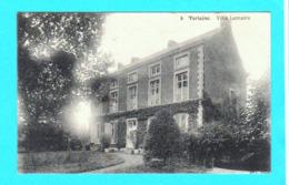 CPA VERLAINE : Villa Lemaire N° 6 - Circulée En 1912 - Edit. N. Laflotte, Bruxelles.- 2 Scans - Verlaine