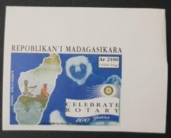 MADAGASCAR 2005 MICHEL Mi. 2627 IMPERF ND -  CELEBRATE 100 YEARS ROTARY CLUB INTERNATIONAL APES MONKEYS LEMUR - RARE MNH - Rotary, Lions Club