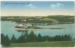 Chester 1936; Little Fish Island - Circulated. (Novelty - Montreal) - Nova Scotia