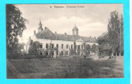 CPA VERLAINE : Château Orban N° 8 - Circulée En 1912 - Edit. N. Laflotte, Bruxelles.- 2 Scans - Verlaine