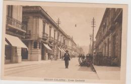 Reggio Calabria, Corso Garibaldi Animata - F.p.- Anni '1930 - Reggio Calabria