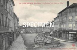 109 La Fontaine Et La Place Du Foiral - Yssingeaux - Yssingeaux