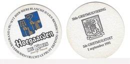 8a Brij. Hoegaarden De Kluis Rv 10de Grietmuilviering 1991 - Sous-bocks