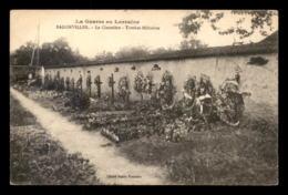 54 - BADONVILLER - LE CIMETIERE - TOMBES MILITAIRES - GUERRE 14-18 - France