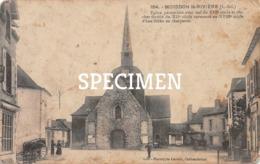 164 Eglise Paroissiale Avec Nef Du XIII Siècle - Moisdon-la-Rivière - Moisdon La Riviere