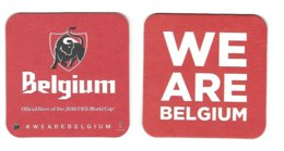 25a Jupiler Belgium 2018 Rv We Are Belgium - Sous-bocks
