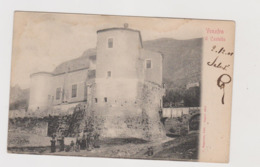 Venafro (IS) Castello, Animata ,  Ediz. Ragozino N.1910  - F.p.- Anni '1900 - Isernia