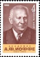 USSR Russia 1980 100th Birth Anniv A.F. Joffe Famous People Physicist Physics Sciences Soviet Union Stamp MNH Mi 5007 - Celebrations