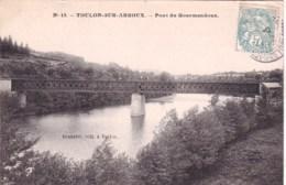71 - Saone Et Loire - TOULON Sur ARROUX  - Pont De Gourmandoux - France
