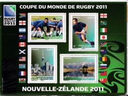F 4582 (2011) Neuf  Coupe Du Monde De Rugby 2011 - Blocs & Feuillets